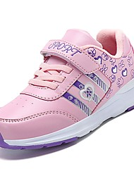 cheap -Girls' Shoes Rubber Spring Comfort Athletic Shoes for Outdoor Purple Fuchsia
