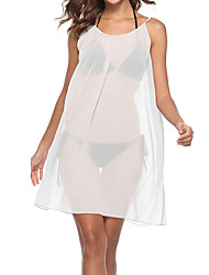 cheap -Women's Boho Bodycon Sheath Dress - Solid Colored, Ruched Pleated
