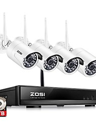 cheap -ZOSI® 4CH 1080P HDMI Wifi NVR 2.0MP Security System IR Outdoor Waterproof CCTV Camera Wireless Surveillance System