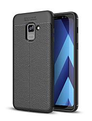 abordables -Funda Para Samsung Galaxy A8 Plus 2018 / A8 2018 Antigolpes Funda Trasera Un Color Suave TPU para A3 (2017) / A5 (2017) / A7 (2017)