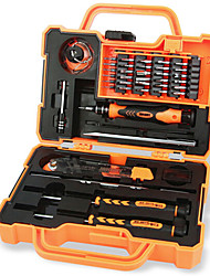 economico -Cellulare Kit di strumenti di riparazione Magnetica 45 in 1 Pinzette Cacciavite angolare Cacciavite Ventosa Graffetta per estrarre Sim