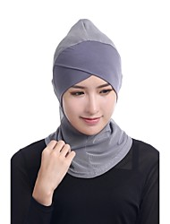 cheap -Women's Cute Casual Hijab - Solid Colored, Mesh