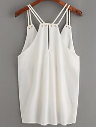 cheap -Women's Cotton T-shirt Strap
