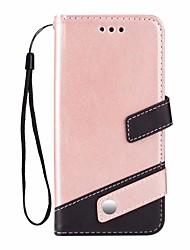 Недорогие -Кейс для Назначение SSamsung Galaxy S9 Plus Бумажник для карт / со стендом Чехол Сплошной цвет Твердый Кожа PU
