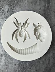 baratos -Ferramentas bakeware silica Gel / Imitação de Ródio Ferramenta baking Bolo / em botão Ferramentas de Sobremesa / Ferramentas de massa 1pç