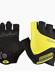 Недорогие -SANTIC Спортивные перчатки Перчатки для велосипедистов Спортивные перчатки Противозаносный Anti-Shake Быстровысыхающий Пригодно для носки