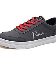 abordables -Homme Chaussures Polyuréthane Printemps Automne Ballerines pour Décontracté Blanc Noir Gris