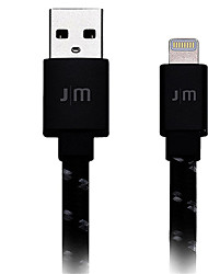 cheap -Lightning High Speed / Quick Charge Cable iPhone for 120 cm For Aluminum