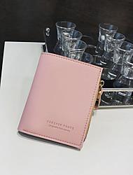cheap -Women's Bags PU Coin Purse Zipper for Casual Black / Blushing Pink / Gray