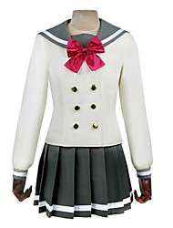 cheap -Inspired by Love Live Anime Cosplay Costumes Cosplay Suits Other Long Sleeve Cravat / Top / Skirt For Men's / Women's Halloween Costumes