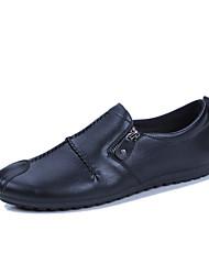 abordables -Homme Chaussures Tulle Automne / Hiver Chaussures de plongée Mocassins et Chaussons+D6148 Noir / Jaune / Rouge