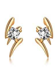 cheap -Women's Cubic Zirconia Zircon Stud Earrings - Fashion Korean Irregular For Daily Work