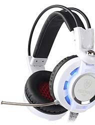 K6 Fones Bluetooth Bandana Com Fio Fones Dinâmico Cobre Games Fone de ouvido Com controle de volume Com Microfone Fone de ouvido