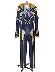 cheap -Inspired by Macross Frontier Cosplay Anime Cosplay Costumes Cosplay Suits Other Long Sleeves Coat Vest Shirt Pants Gloves Shoe Cover Tie