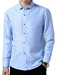 cheap -Men's Business Shirt - Geometric