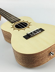 cheap -Ukulele Sounds Music Artistic 4 Musical Instruments