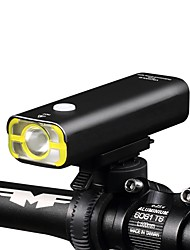 cheap -Front Bike Light / Headlight LED Bike Light LED Cycling Waterproof, Flashlight, Lightweight Rechargeable Battery 400 lm Cycling / Bike - Wheel up / IPX-4