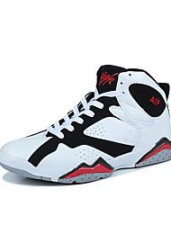 Недорогие -Муж. обувь Полиуретан Весна / Осень Удобная обувь Спортивная обувь Для баскетбола Черно-белый / Черный / Красный / Оранжевый и черный