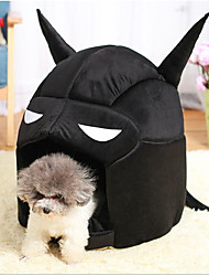 Недорогие -Коты Собака Кровати Животные Коврики и подушки Однотонный Персонажи Компактность Складной Черный Серый Для домашних животных