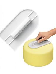 Недорогие -Инструменты для выпечки Пластик Инструмент выпечки / Креатив Торты / Вечеринка Десертные инструменты 2pcs