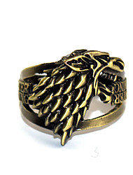abordables -Plus d'accessoires Inspiré par Game of Thrones Games Of Throne Manga Accessoires de Cosplay Bague Chrome Déguisement d'Halloween