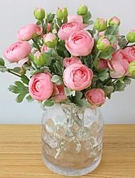 Недорогие -Искусственные Цветы 1 Филиал Европейский стиль Розы Букеты на стол