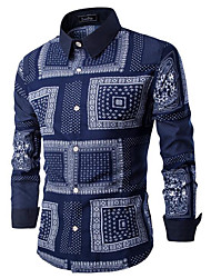 Majica Muškarci - Ulični šik Geometrijski oblici Osnovni