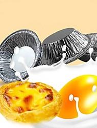 Недорогие -Инструменты для выпечки Металл Многофункциональный / Heatproof / 3D Повседневное использование / День рождения Круглый 50шт