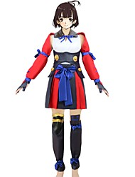 cheap -Inspired by Kabaneri Of The Iron Fortress Cosplay Anime Cosplay Costumes Cosplay Suits Other Sleeveless Top Skirt More Accessories Sash /