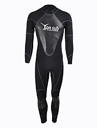 cheap -YON SUB Men's Full Wetsuit 1.5mm Neoprene Diving Suit Long Sleeve Back Zipper / Fashion All Seasons