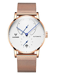 cheap -CADISEN Men's Automatic self-winding Fashion Watch Casual Watch Japanese Calendar / date / day Water Resistant / Water Proof Casual Watch