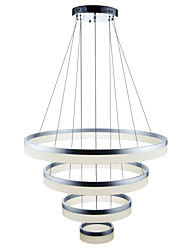 cheap -Pendant Light Ambient Light - Adjustable Dimmable Dimmable With Remote Control, Artistic Nature Inspired LED Chic & Modern Country