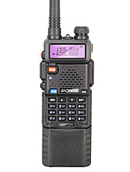 abordables -BAOFENG UV-5R Walkie Talkie  Portátil 128 3800mAh 5W Walkie talkie Radio de dos vías