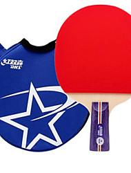preiswerte -DHS® R1006 CS Ping Pang/Tischtennis-Schläger Gummi 1 Stern Kurzer Griff Pickel