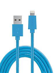 abordables -Eclairage Adaptateur de câble USB Charge rapide Haut débit Câble Pour iPhone 150 cm PVC
