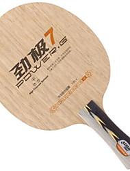 Недорогие -DHS® POWER.G7 FL Ping Pang/Настольный теннис Ракетки Пригодно для носки Против скольжения деревянный 1