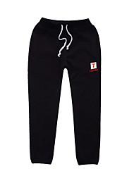abordables -Couleur Pleine Fille de Quotidien Sports Coton Spandex Printemps Eté Robe Basique Marron Noir Gris Foncé Gris