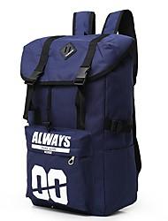 preiswerte -Herrn / Unisex Taschen Segeltuch Rucksack Reißverschluss / Rüschen für Fitness / Draussen Blau / Rote