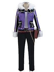 cheap -Inspired by God Eater Cosplay Anime Cosplay Costumes Cosplay Suits Other Long Sleeves Top Pants More Accessories Hat For Men's Women's