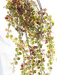 Недорогие -Искусственные Цветы 1 Филиал Свадьба / Пастораль Стиль Pастений Цветы на стену