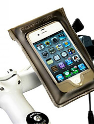 preiswerte -ROSWHEEL Fahrradtasche Fahrradrahmentasche Handy-Tasche Regendicht Tasche für das Rad PU-Leder Fahrradtasche Radsport / Fahhrad