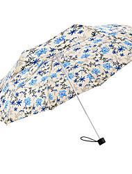 cheap -1 Fabric Women's All Sunny and Rainy Wind Proof Folding Umbrella