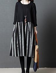 cheap -Women's Cute Sheath Dress - Solid Colored