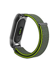 abordables -Bracelet de Montre  pour Mi Band 2 Xiaomi Bracelet Sport Métallique Nylon Sangle de Poignet