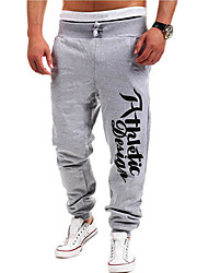 economico -Per uomo Attivo Cotone Dritto Attivo Pantaloni della tuta Chino Pantaloni - Alfabetico