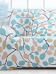 abordables -Moderno Rústico Jacquard de Poliéster al 100% Cobertor de Sillón Doble, Simple Plantas Impreso Fundas