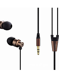 8600 No ouvido Com Fio Fones Dinâmico Cobre Pro Audio Fone de ouvido Mini Confortável Fone de ouvido
