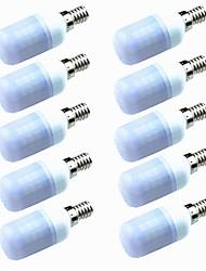 Недорогие -10 шт. 3W 200lm E14 G9 GU10 E26 / E27 E12 LED лампы типа Корн T 60 Светодиодные бусины SMD 2835 Декоративная Тёплый белый Холодный белый
