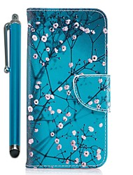 baratos -Capinha Para Huawei Mate 10 lite Mate 10 Porta-Cartão Carteira Com Suporte Flip Magnética Capa Proteção Completa Árvore Rígida PU Leather