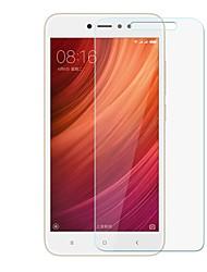 Недорогие -Защитная плёнка для экрана XIAOMI для Redmi Note 5A Закаленное стекло 1 ед. Защитная пленка для экрана Защита от царапин Уровень защиты 9H